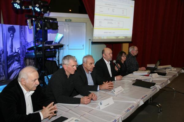 Comité:R.CIRE,président-I.CAMBUS,secrétaire-R.PRISCAL,trésorier