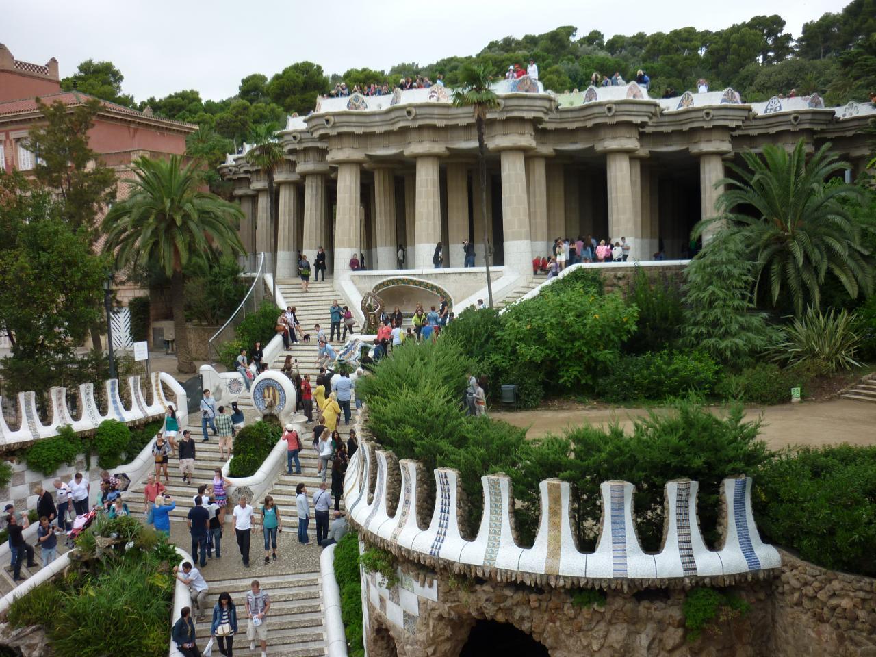 Parc Guël Barcelone