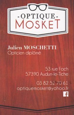 Logo optique mosket