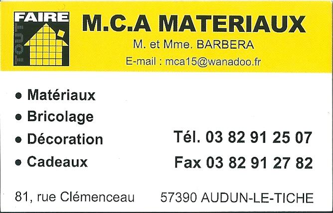 MCA AUDUN - 81, rue Clémenceau - 57390 Audun le tiche