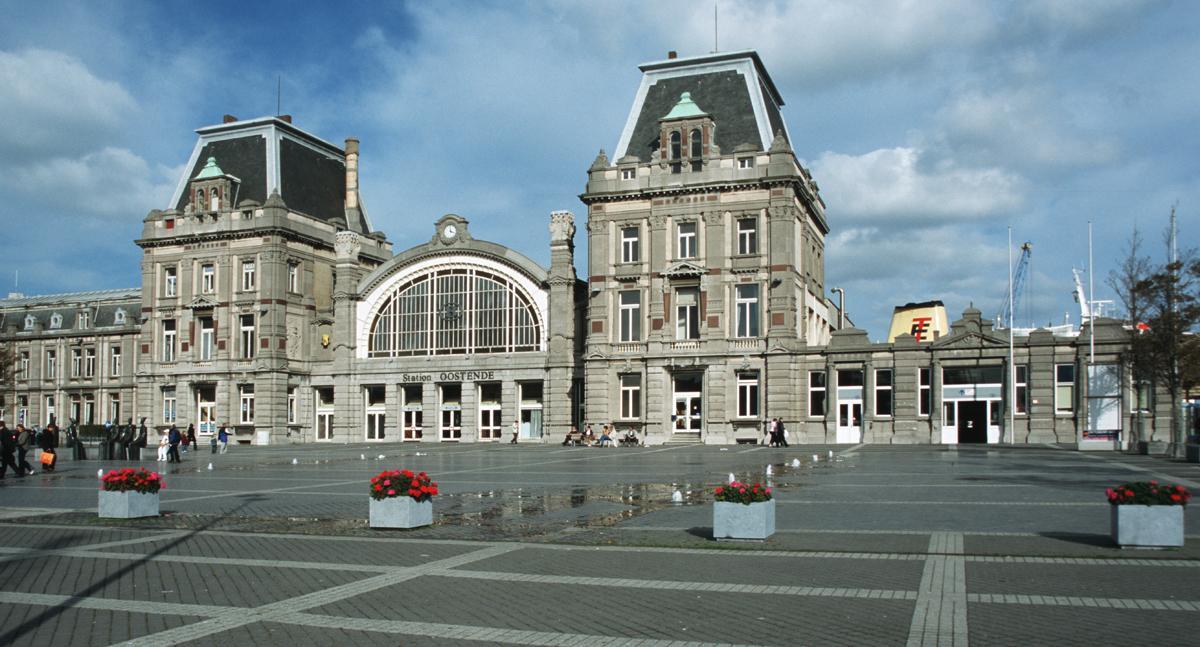 Ostende bahnhof