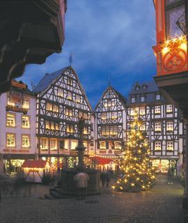 Weihnachtsmarkt bernkastel kues 2009